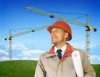 Constructeur Image stock