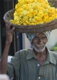 Constructeur de fleur Images libres de droits