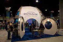 Constructeur de globe de Digitals à la conférence d'utilisateur d'ESRI Photos stock