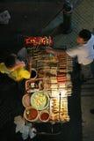 Constructeur de nourriture de rue Images libres de droits