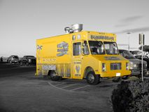 Constructeur de nourriture mobile Photographie stock libre de droits