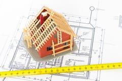 Constructeur et architecte Photos stock