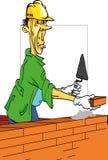 constructeur gai illustration de vecteur