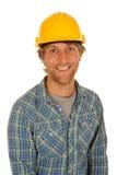 Constructeur heureux Image stock
