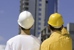 Constructeurs Photos stock