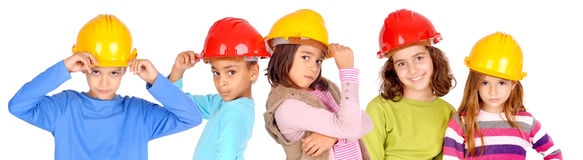 Constructeurs photo stock