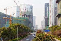 Constructing Guangzhou 2 Stock Photo