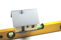 Constructing a house Stock Photos