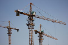 The constructing site Stock Image