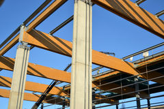 Constructing a structure Stock Images