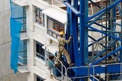 Constructing Tower Crane Extension Stock Photos