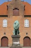 Construction à Copenhague Photographie stock