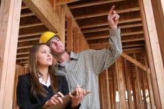 Construction à la maison Photographie stock libre de droits