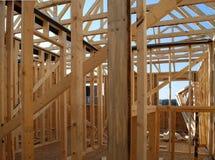 Construction à la maison intérieure Photographie stock libre de droits
