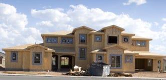 Construction à la maison neuve photographie stock