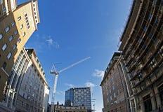 Construction à Londres Photographie stock libre de droits