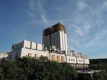 Construction à Moscou Photographie stock libre de droits