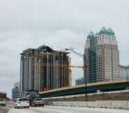 Construction à Orlando, la Floride Image libre de droits