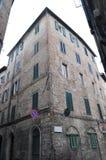 Construction à Sienne Photo libre de droits