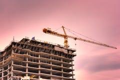 Construction élevée Images stock