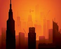 Construction élevée Images libres de droits