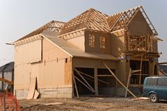 Construction 02. Year 2005 oshawa Stock Image