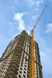 Construction. Of multi-dwelling buildings Royalty Free Stock Images