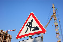 Construction_2 Royalty Free Stock Images