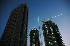 Construction. At dubai- united arab emirates Royalty Free Stock Photos