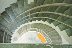 Construction. Stairs art building in house Royalty Free Stock Photo