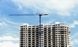 Construction. Of a multistory building Royalty Free Stock Photos