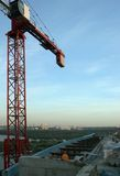 CONSTRUCTION. View to moscow city from construction Stock Photography