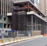 Construction. On New York City Skyscraper Stock Photos