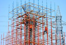 Construction. Group of builders. China Stock Photography