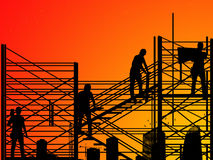 On the construction stock images