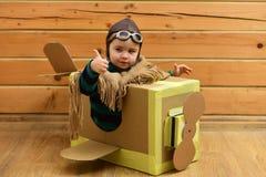 construction aéronautique, éducation Photo stock