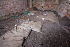 Construction abandonnée images libres de droits
