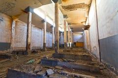 Construction abandonnée d'entrepôt Image libre de droits