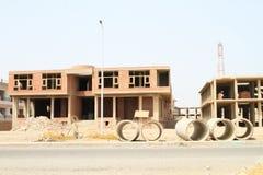 Construction abandonnée dans Marsa Alam photo libre de droits