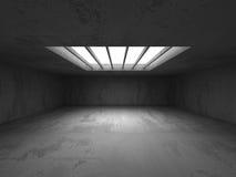 Construction abstraite de mur en béton Fond d'architecture Images libres de droits