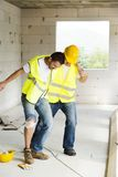 Construction accident Royalty Free Stock Photo