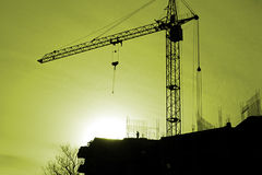 Construction activity Royalty Free Stock Photo