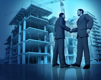 Construction Agreement Stock Images