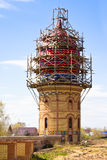 Construction of All Religions Temple in Kazan, Royalty Free Stock Photo