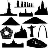 Construction américaine illustration libre de droits