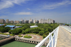 Construction of the amoy city. Construction of the city, amoy city, china Stock Photography