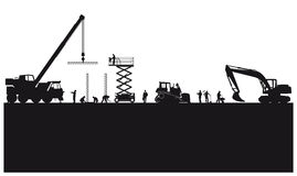 Construction And Engineering Illustration Stock Photos