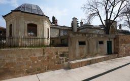 Construction antique à Edirne Photographie stock
