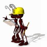 Construction Ants 3 Stock Photo