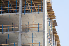 Construction of an apartment house Stock Images